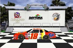 David Lawson Daytona Aero win pic